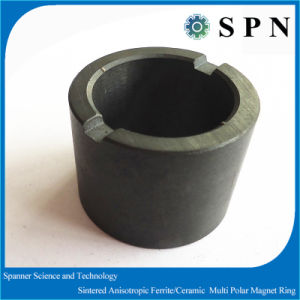 Ferrite Magnet Ring with Dry Press Technology for Motor Rotor pictures & photos
