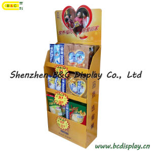 Food Paper Cardboard Floor Display (B&C-A085) pictures & photos