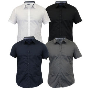New Design Short Sleeve Men′s Casual Shirt pictures & photos