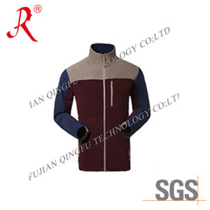 Woman High Quality Cheap Polar Fleece Jacket (QF-4011) pictures & photos