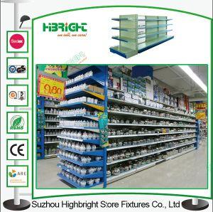 Supermarket Rack Display Gondola Shelving Metal Shelf pictures & photos
