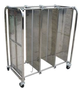 ESD Antistatic Stainless Steel Trolley pictures & photos