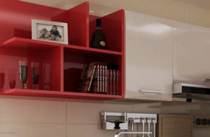 2017 Hot Sales Modern High Gloss Lacquer Kitchen Cabinets (zz-074) pictures & photos