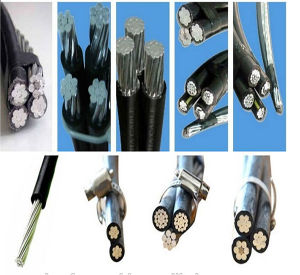 AAC/ACSR/AAAC Core Overhead Aerial Bundled Cable ABC Cable pictures & photos