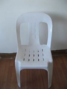 Factory Wholesale Plastic Chair Cafe Chair pictures & photos