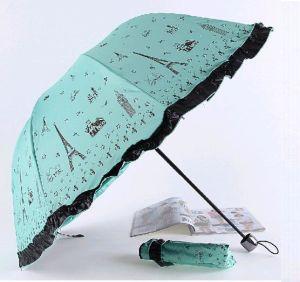 3 Fold Windproof Anti UV Umbrella (LGUD14023)