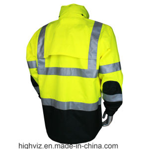 Reflective Rainwear with ANSI107 Certificate (RW-003) pictures & photos