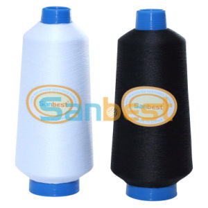 100% High Quality Continuous Polyester Textured Thread for Babywear 200d/1 pictures & photos