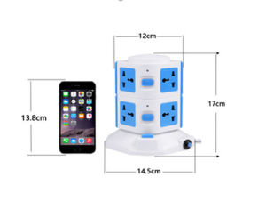 Convenient Multifunction Perfect Switch Socket Without USB (W2)