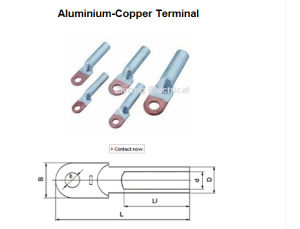 Copper Aluminium Connecting Terminals Aluminium-Copper Terminal pictures & photos