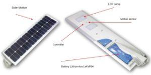 Motion Detector Lights Solar Powered Public Lightin Solar Street Light Poles Street pictures & photos