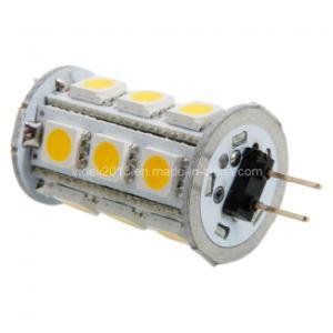 AC/ DC12V 12 Volt 360deg 18 5050 SMD G4 LED Lamp Bulb pictures & photos