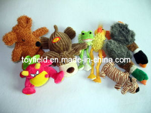 Animals Toy Dog Plush Squeaky Chew Bite Pet Supply pictures & photos