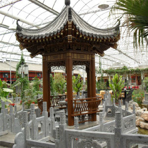 2017 Popular Multi Span Agriculture Sightseeing Greenhouse pictures & photos