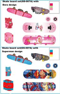 Skate Board Set (GS-007A) pictures & photos