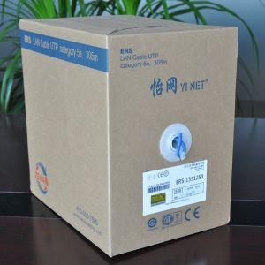Factory Sales Cat5e/CAT6 UTP Copper Ethernet Data LAN Cable 1000 FT pictures & photos