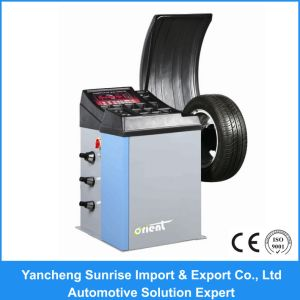 Full Automatic China Wheel Balancer (ORB-93B) pictures & photos