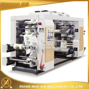Four Colors High Speed Flexographic Printing Machinery pictures & photos