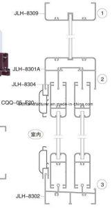 Jlh-83 Series Sash Aluminium Alloy Extrusion Profile for Door and Window pictures & photos