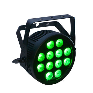 12X12W RGBWA UV 6-in-1 LED PAR Can Light Stage with Road Case and Nuetrik Powercon pictures & photos