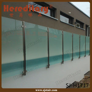 Stainless Steel Stair Railing Stair Glass Railing Prices (SJ-H007) pictures & photos