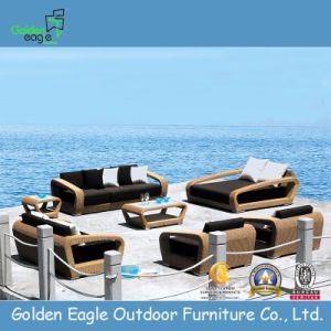 Outdoor Furniture Wicker/Rattan Sofa Set, Modern Furniture (S0095) pictures & photos