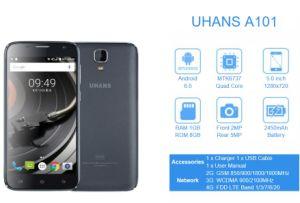 Uhans A101 Smartphone 4G FDD 2450mAh Quad Core Smart Phone pictures & photos