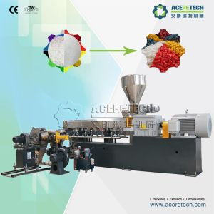 Two-Stage Plastic Extruder for PVC Cable Material Compounding Pelletizing Machine pictures & photos