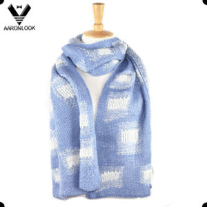 Fashion Winter Knitting Pattern Jacquard Men Scarf pictures & photos