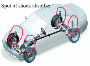 Chery Automobile Tiggo Shock Absorber with ISO9001 Certificate/OEM pictures & photos