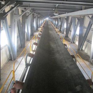 Fixed Horizontal Gravel, Sand Rubber Belt Conveyor pictures & photos