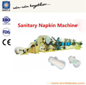 Full Automatic Semi-Servo Feminine Pads Machine Sanitary Napkin Machine Manufacture From China pictures & photos