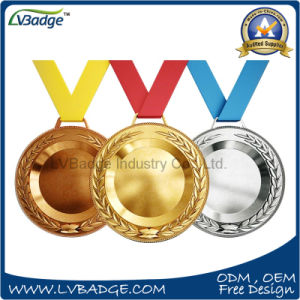 Custom Design 3D Gold Silver Bronze Sport Medal pictures & photos
