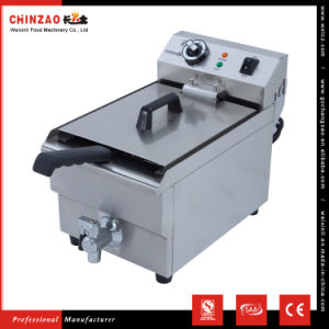 10L Single Tank Stainless Steel Electric Potato Chips Deep Fat Fryer on Sale pictures & photos