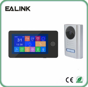 Touch Screen Video Door Phone Home Security Door Entry Intercom