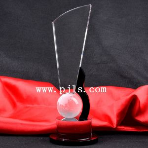 Globle Glass Crystal Trophy Award for Souvenir pictures & photos