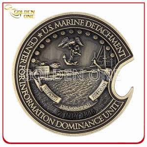 Custom Antique Bronze Souvenir Gift Challenge Coin pictures & photos