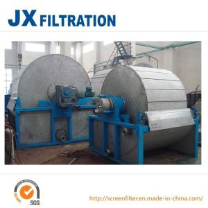 Precoating Rotary Vacuum Filter for Sugar Plant pictures & photos