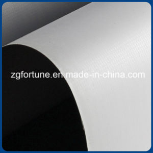Printing Outdoor Advertising Material White Grey Matte Flex Banner pictures & photos