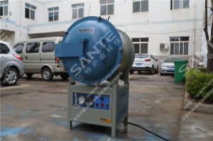 1400c 16 Programs and Pid Control Vacuum Crucible Furnace with Silicon Carbide Heating Element pictures & photos
