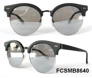 Round Shape Acetate & Metal with Ce Eyewear Sunglasses pictures & photos