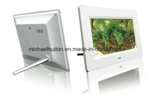 Custom Designed 7inch Multi Function Digital Picture Frame (HB-DPF701A) pictures & photos