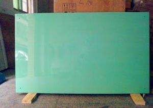 Serigraphy Color Printing Tempered Glass for Writing Board pictures & photos