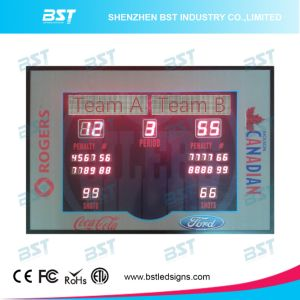 High Brightness Outdoor Waterproof LED Scoreboard for Sport Score Display pictures & photos