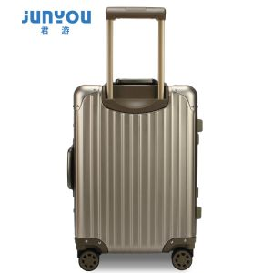 Good Quality New Design 24′′ Aluminum Frame Travel Luggage Set pictures & photos