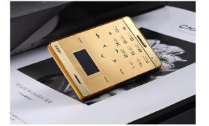 Hot Selling M3 Credit Card Size Mini Mobile Phone with Factory Price pictures & photos