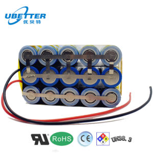 11.1V 11ah Lithium Ion Battery pictures & photos