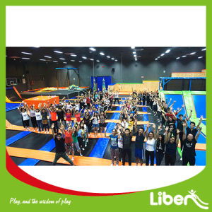 TUV Approved Customized Trampoline Park pictures & photos