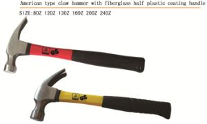 Claw Hammer with Plastic Coating Handle pictures & photos