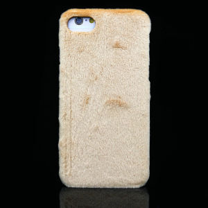Wholesale Pure Color Lint PC Mobile Phone Case for Winter pictures & photos
